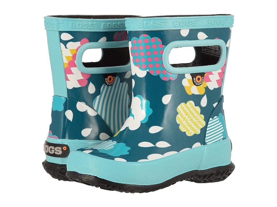 Bogs Kids Skipper Clouds (Toddler/Little Kid) (Aqua Multi) Girls Shoes