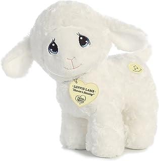 """Aurora - Precious Moments - 10"""" Luffie Lamb Musical"""