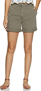 Marks & Spencer Women's Marks and Spencer Regular fit Shorts Cotton Casual