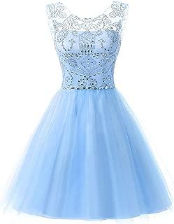 Best light blue short prom dress Reviews