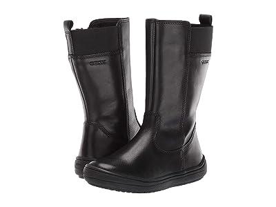 Geox Kids Jr Hadriel 14 (Toddler) (Black Oxford) Girls Shoes