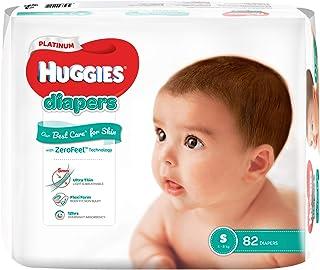 HUGGIES Platinum Diapers, Small, 82ct