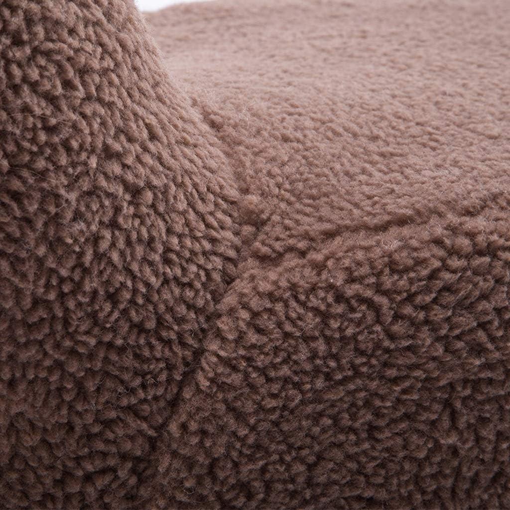 YXDEW Alpaga Animal Cartoon Repose-Pieds Tabouret Tabouret Bas Salle Change Chaussures Sofa Banc de Rangement Tabouret L68xW34xH53cm Chaise (Color : Brown) Brown