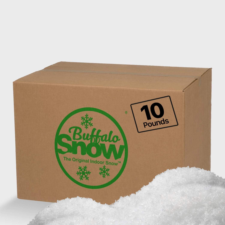 Buffalo Snow Artificial New life Iridescent Ranking TOP14 Carton Snowflakes 10-Pound