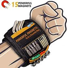 Bestes Männer Geschenke Magnetisches Armband - Magnetarmband Handwerker mit 15 Leistungsstarken Magneten, Vater Tischler M...