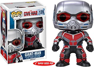 FunKo POP Marvel: Captain America 3: Civil War Giant Man Action Figure, 6-Inch