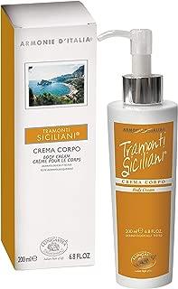 Bottega Di Lungavita Aromatherapy Italian Harmonies Sicilian Sunset Body Cream