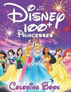 100+ Disney princesses coloring book (illustrated): Princesses coloring book. 103 illustrations. Coloring book for girls, Disney coloring book. 2019 edition