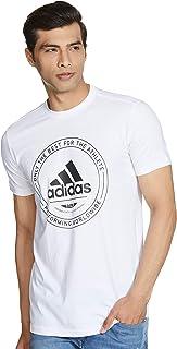 Adidas Men's Plain Regular Fit T-Shirt