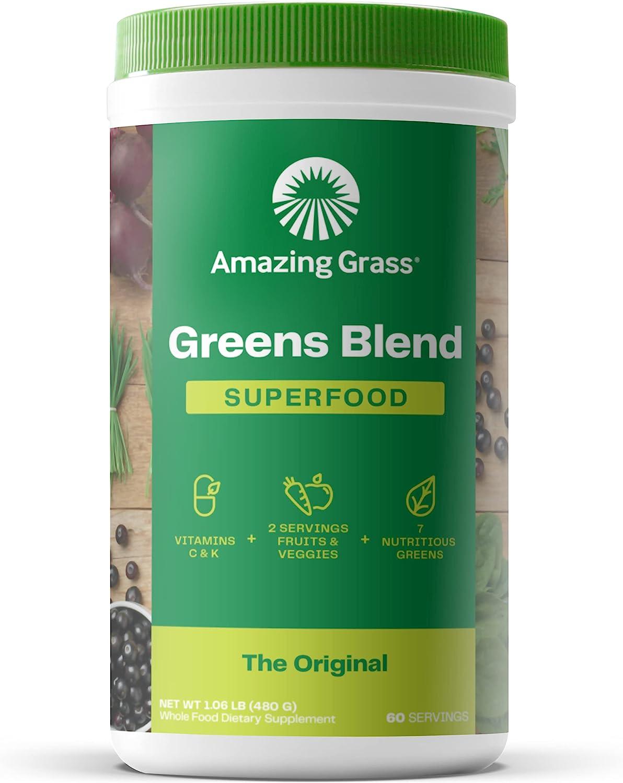 Amazing Grass Green SuperFood - Best Heavy Metal Detox of 2021