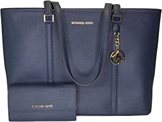 980d309c1150 MICHAEL Michael Kors Sady Large MF TZ Tote bundled with Michael Kors Jet  Set Travel Large