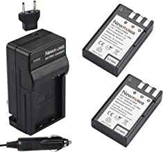Newmowa EN-EL9/EN-EL9a Replacement Battery (2-Pack) and Charger kit for Nikon D40, D40X, D60, D3000, D5000