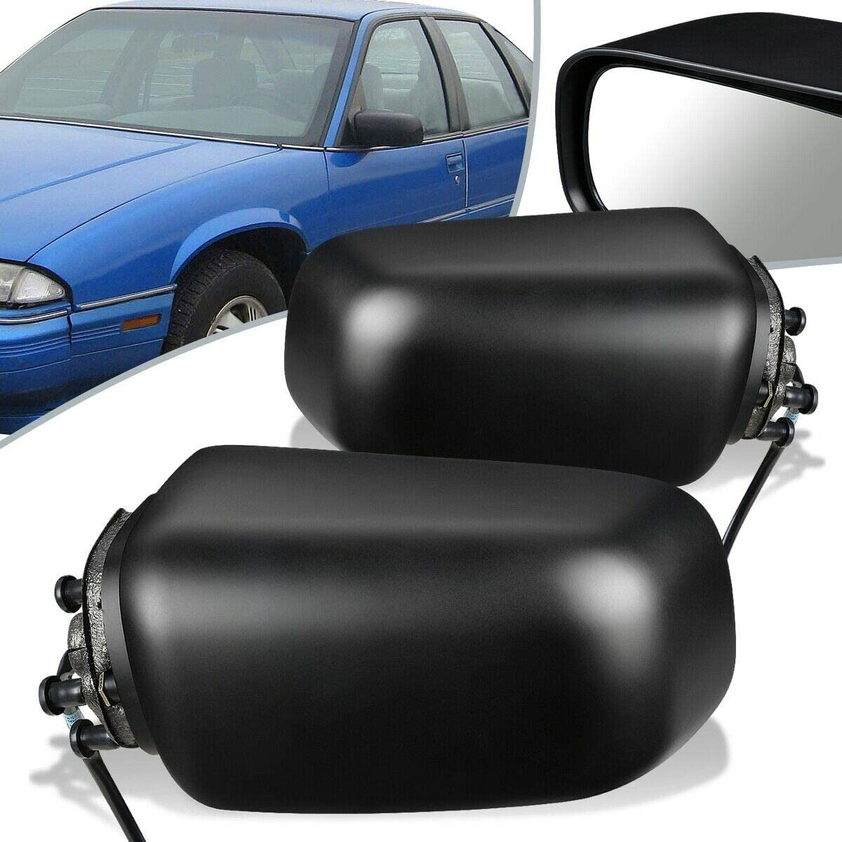 cskj Compatible with High order Pair Power Max 40% OFF Door Mirror View Side