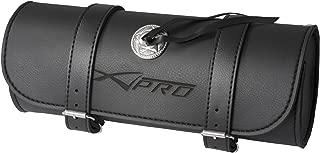 A-Pro Tool Roll Saddle Bag Motorcycle Motorbike Biker Alforjas 32/x 13/cm Black