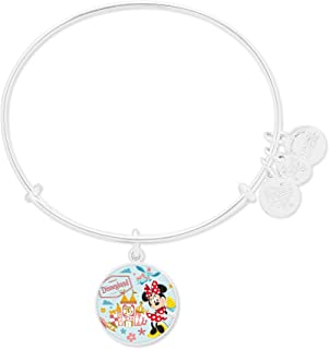 Alex and Ani Jewelry Gifts - Mickey and Minnie Mouse Disneyland Bangle Bracelet - Silver