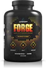 Legion Forge Belly Fat Burner for Men & Women - Lose Your Love Handles, Get a Flat Stomach and Trimmer Waist Fast. Helps with Butt & Leg Fat Too! with Yohimbe, HMB, Choline. All Natural, 45 Servings.