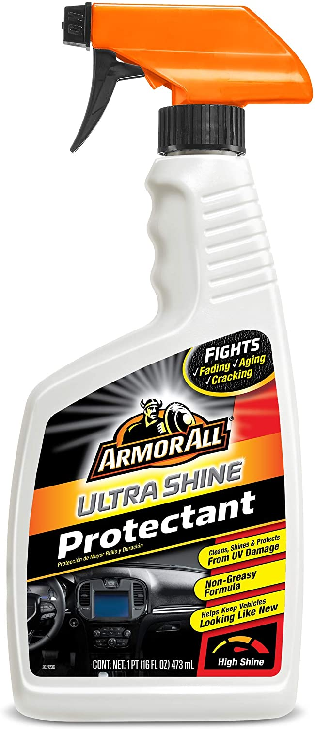 Armor All Ultra Shine Protectant Genuine Free Shipping Interior Spray wit Cleaner Car Gorgeous