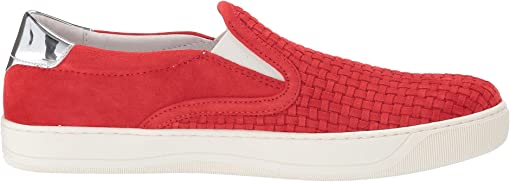 Red Italian Suede