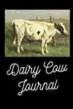 Dairy Cow Journal: Beautiful picture of a Friesien Dairy Cow journal/Notebook/Diary to write in, draw in or doodle in. Will make a nice gift for farmers, animal lovers and kids