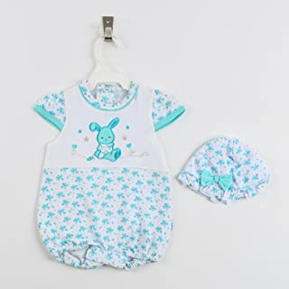New Born Body Suit With Cap From Lumex - Summer