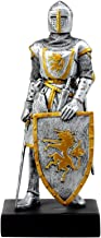 Ebros Medieval Swordsman Knight of Heraldry Figurine 8.75