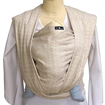 DIDYMOS Woven Wrap Baby Carrier Prima Natural (Organic Cotton), Size 6