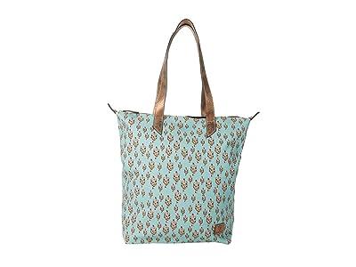 Ariat Cactus Cruiser Tote (Turquoise) Bags