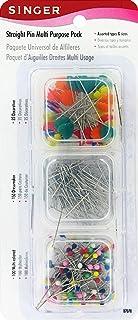 Singer Straight Pin Multi Purpose Pack, 285-count