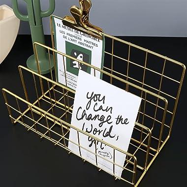 CD Rack Storage Shelf Storage en métal Stockage LP Rack d'enregistrement, bibliothèque rectangulaire, rack de magazine, r