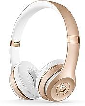 BeatsSolo3Wireless - Auriculares supraaurales - Chip Apple W1, Bluetooth de Clase1, 40horas de sonido ininterrumpido - Dorado