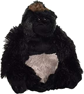 "Wild Republic Silverback Gorilla Plush, Stuffed Animal, Plush Toy, Gifts for Kids, Cuddlekins 8"""