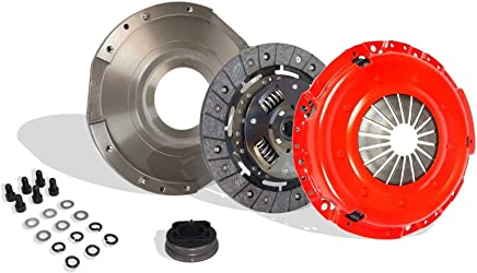 Clutch With Flywheel Kit Works With Dodge Avenger Stratus Plymouth Neon Breeze Chrysler Sebring Eagle Talon High Mitsubishi Eclipse Base Sport Gs Rs ...