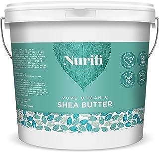 comprar comparacion Manteca de karité sin refinar Nurifi, 100 % pura, natural y orgánica, 1 kg