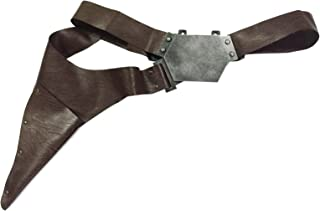 Han Solo Belt with Buckle Holster Handmade PU Prop for Cosplay Costume Accessory