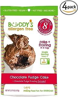 Chocolate Cake Mix - Gluten Free Cake Mix - Gluten Free Dairy Free Snacks - Allergy Free Chocolate Mug Cake Mix - Gluten Free Chocolate Cake - Vegan Cake Mix And Frosting - Buddys Allergen Free
