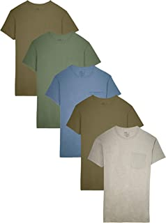 02ab13f2 Fruit of the Loom Men's Pocket T-Shirt Multipack