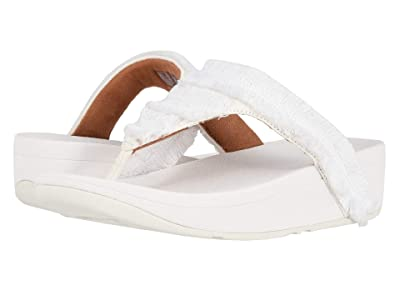 FitFlop Lottie Fringe (Urban White/White) Women