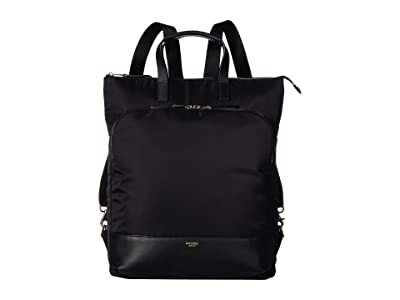KNOMO London Mayfair Harewood Totepack (Black 2) Tote Handbags