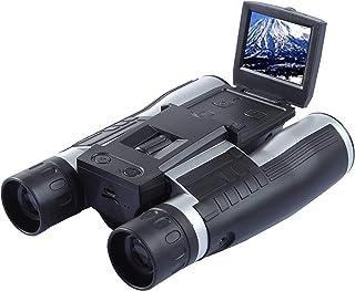 双眼鏡カメラ 12倍 口径 32mm 高倍率 デジタルカメラ双眼鏡 フルHD1080Pハイビジョン 2.0 LCD 双眼鏡ビデオカメラ コンサート バードウォッチング ライブ ドーム ゴルフ 競輪競馬競艇レース スポーツ観戦など用のカメラ付き録...