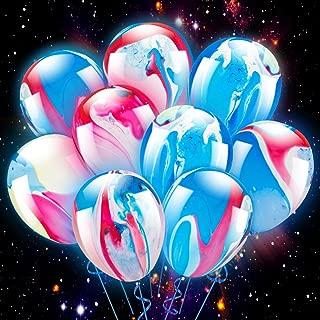 marble inside balloon