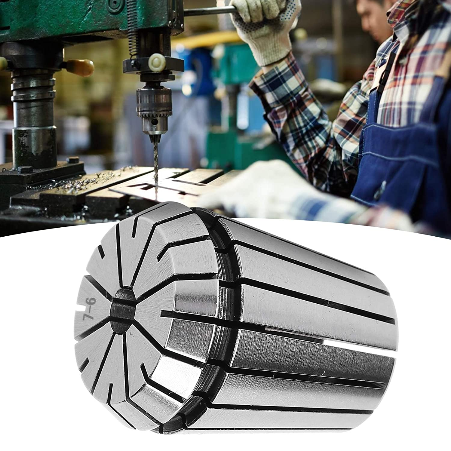 Spring Collet, CNC Collet Durable with High Clamping Force for M
