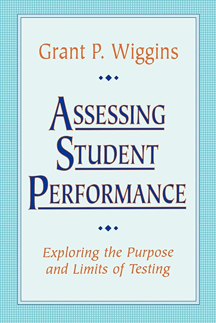ピーク現在不均一Assessing Student Performance P (Jossey Bass Education Series)