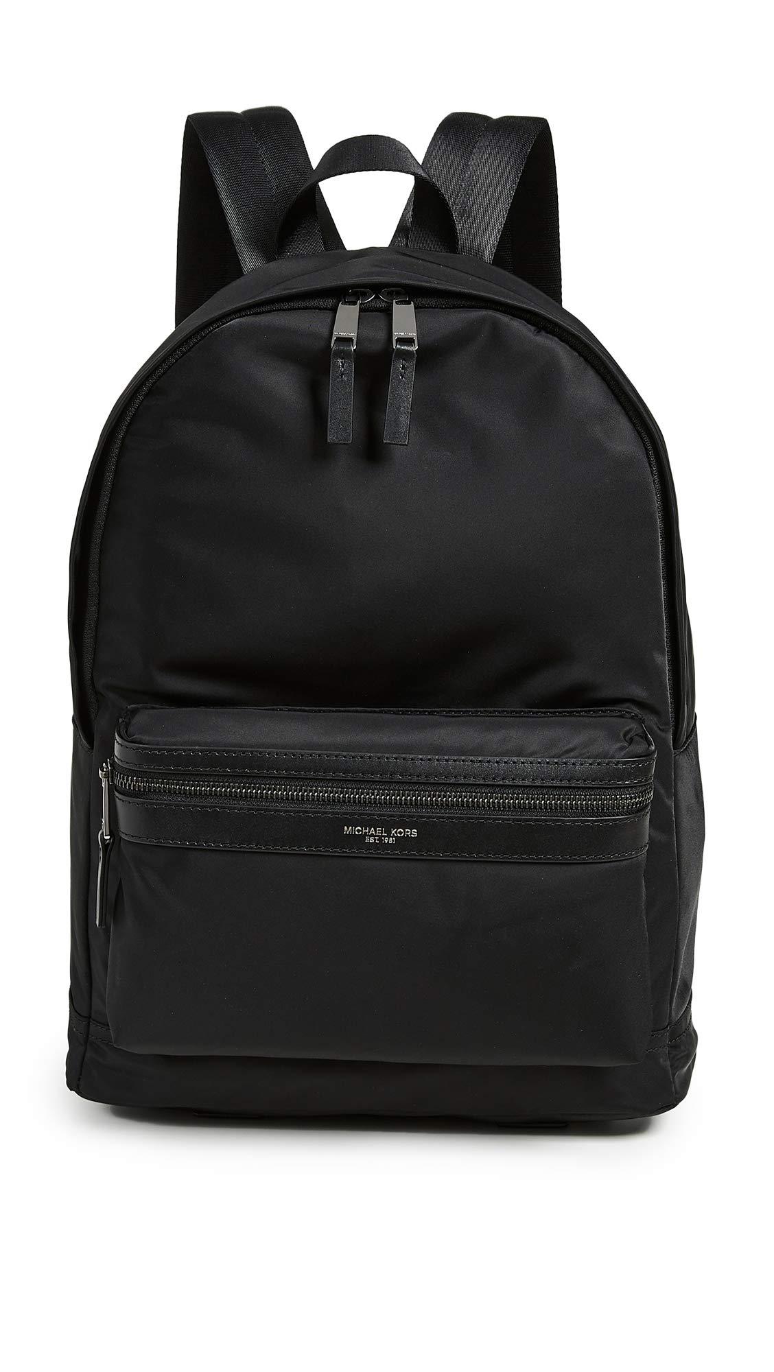 Michael Kors Nylon Backpack Black