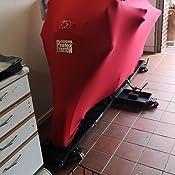 Oxford Cv176 Protex Stretch Passform Premium Stretch Passform Innenraum Motorrad Abdeckung Rot Large Auto