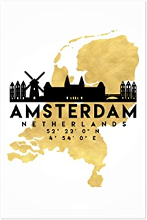 Noir Gallery Minimal Amsterdam Skyline 8