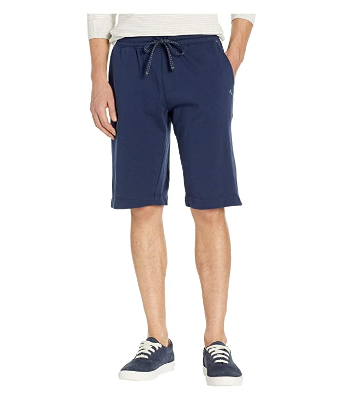 58e9b89e0f Tommy Bahama French Terry Solid Shorts (Navy Heather) Men's Pajama