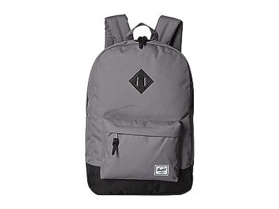 Herschel Supply Co. Heritage (Grey/Black) Backpack Bags
