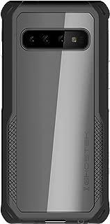 Ghostek Cloak Clear Hybrid Wireless Charging Case Designed for Galaxy S10 (2019) – Black