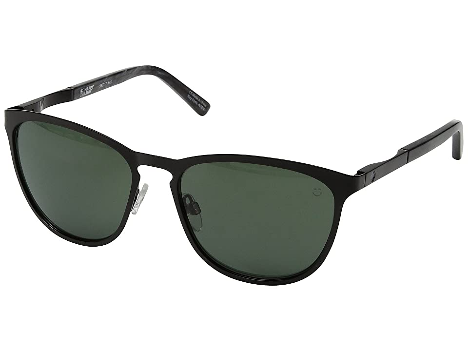 Spy Optic Cliffside (Black/Black Marble/Happy Gray Green) Sport Sunglasses