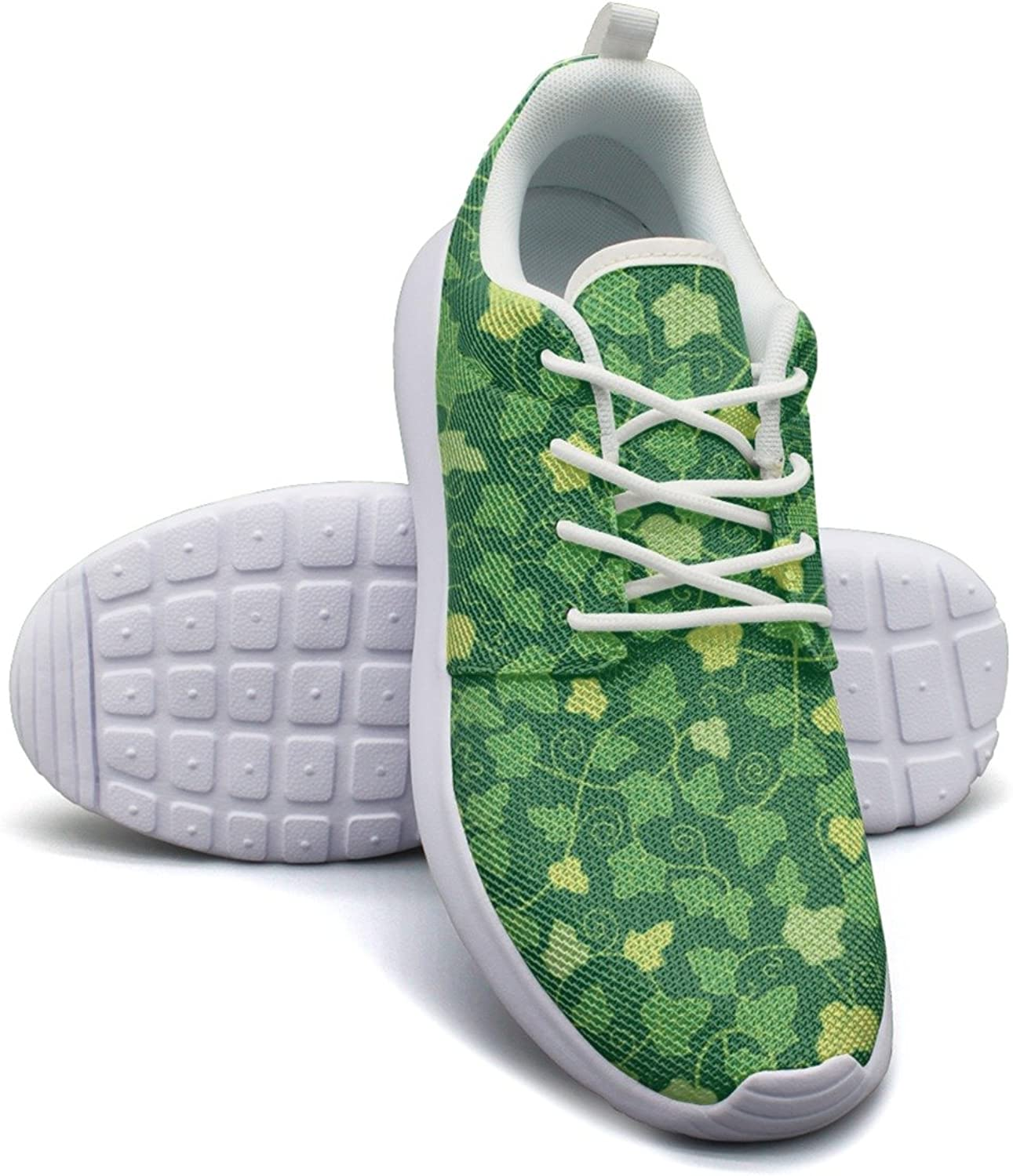 Artificial Green Ivy Planter Women's Lightweight Mesh Sneakers shoes Classic Athletic shoes